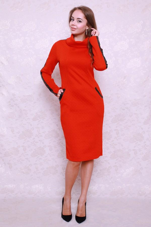 Платье 391 красный