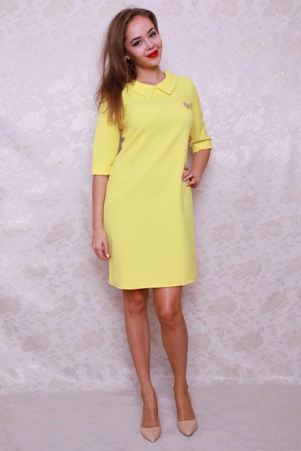 Платье 439 жёлтый