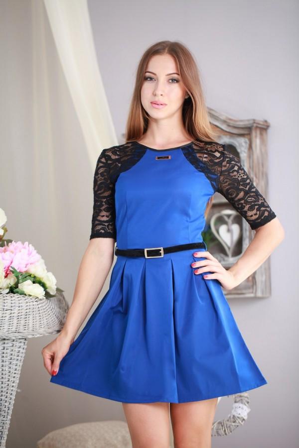 Платье 179 электрик
