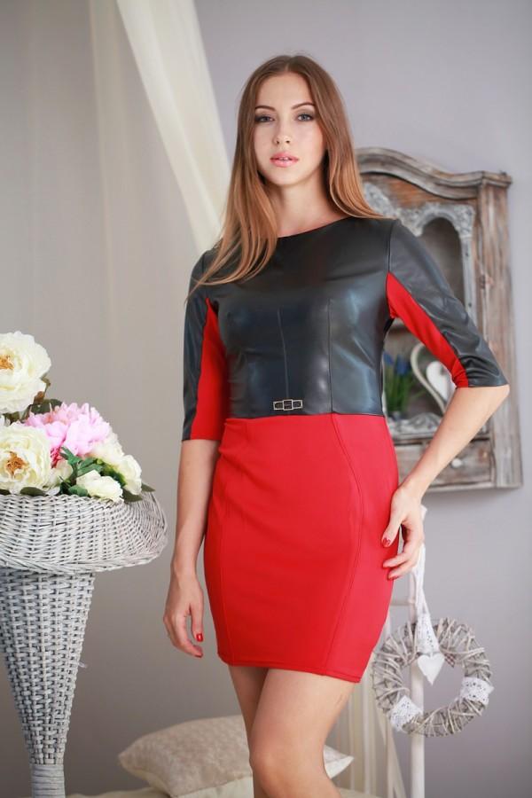 Плаття 182 червоний