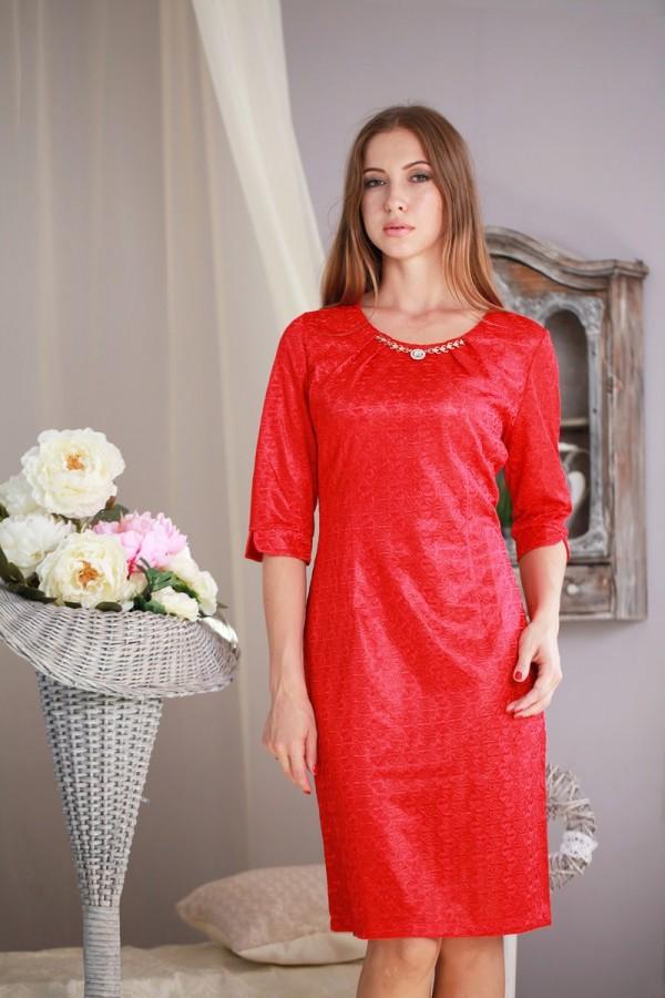 Плаття 183 червоний