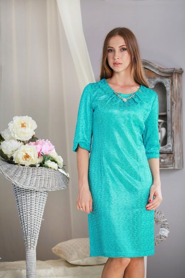 Платье 183 бирюза