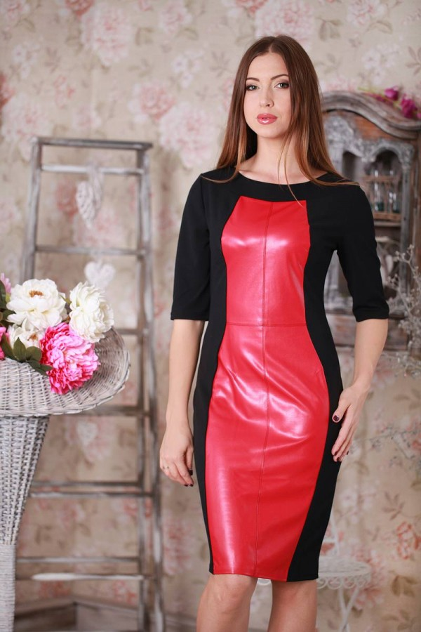 Плаття 189 червоний