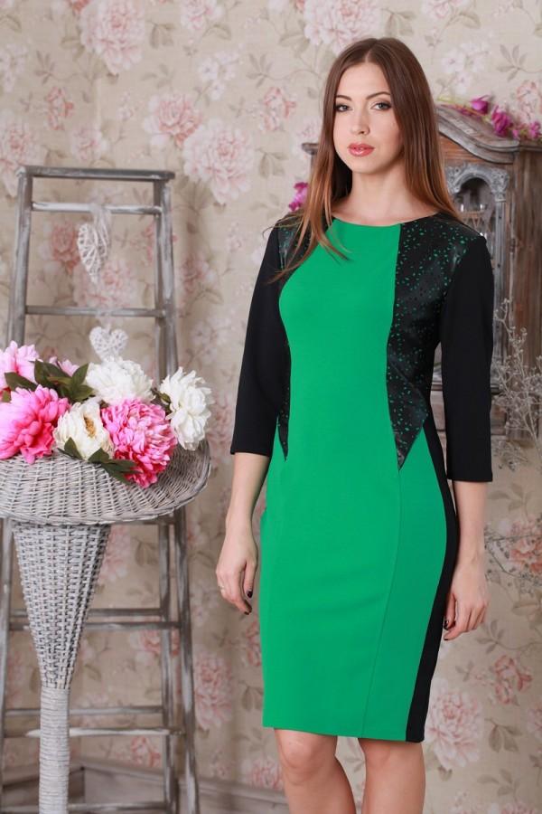 Платье 192 зелёный