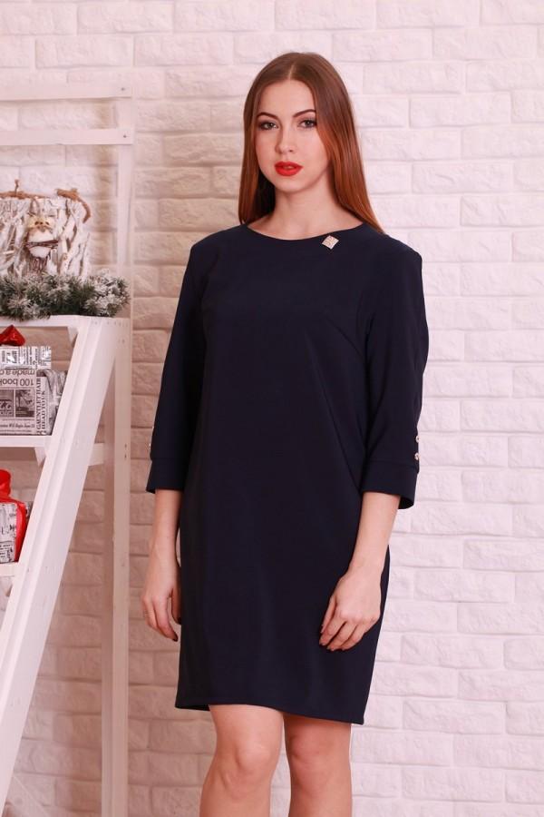 Плаття 199 темно-синій