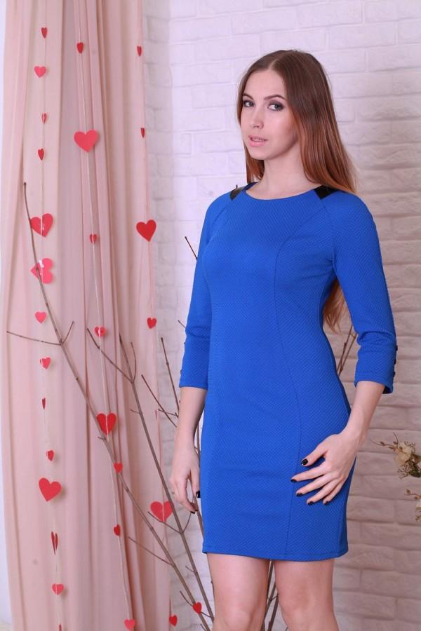 Платье 198 электрик