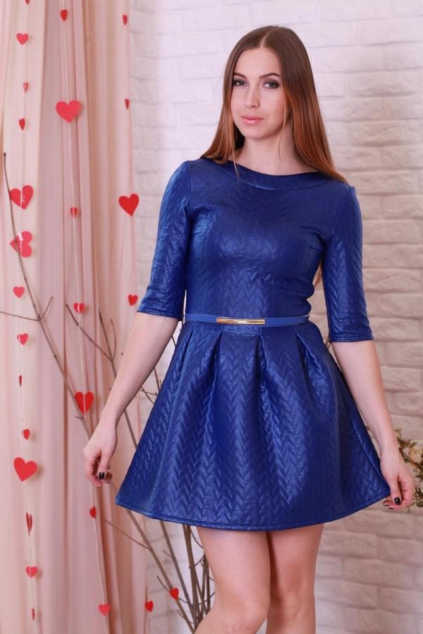 Платье 185 электрик