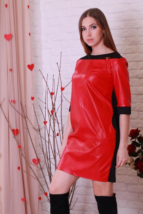 Плаття 203 червоний