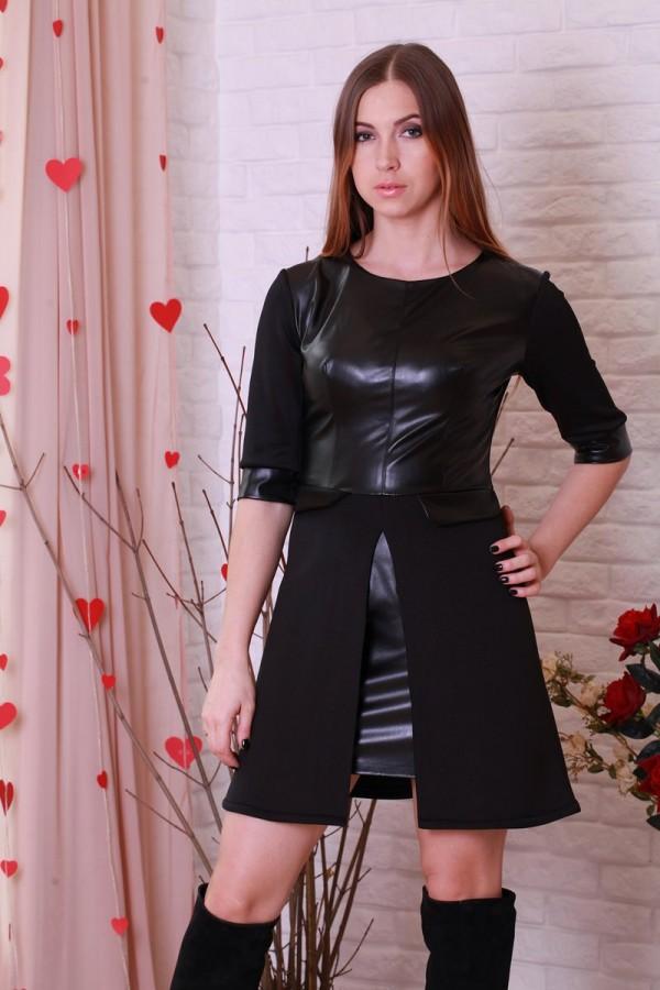 Платье 204 черный