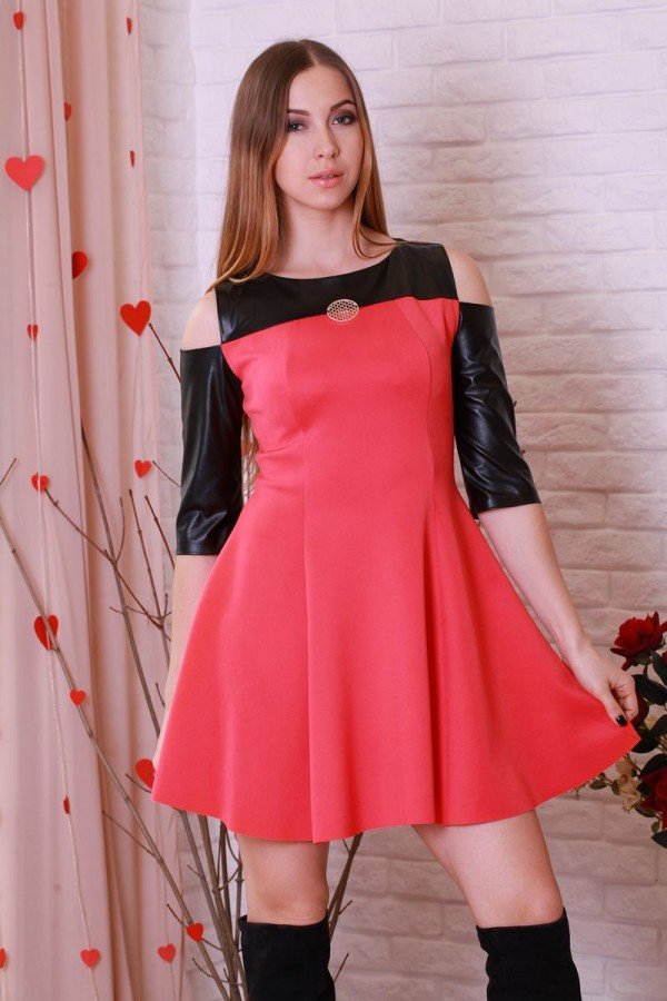 Платье 205 красный