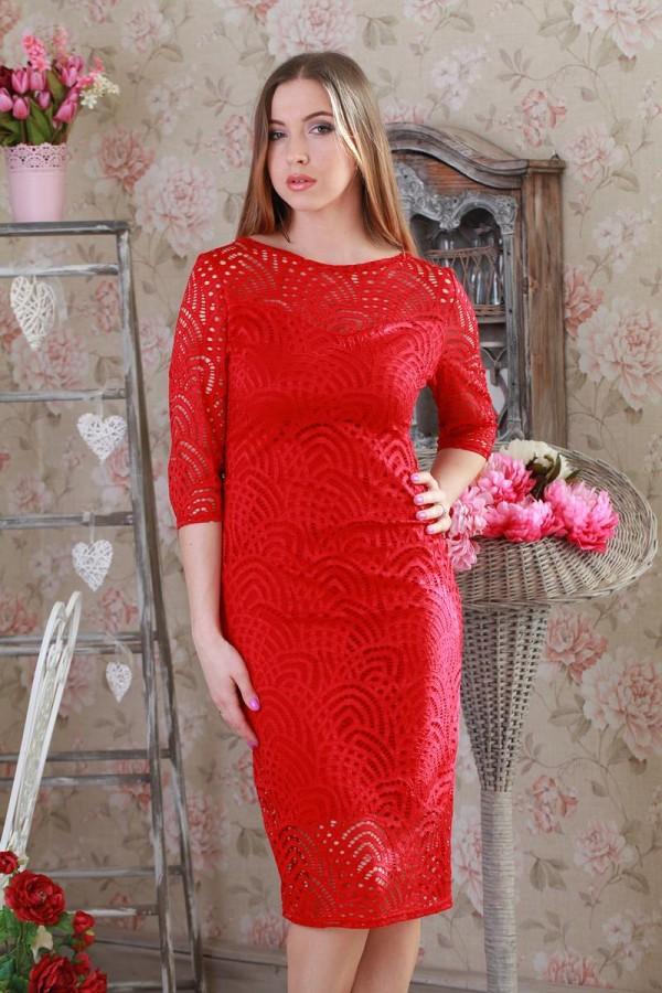 Плаття 202-2 червоний