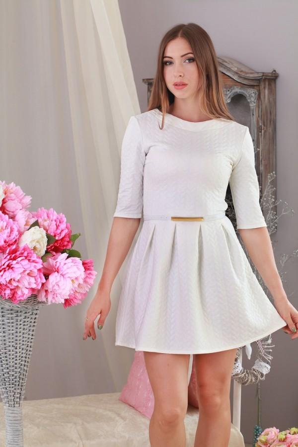 Плаття 185 білий