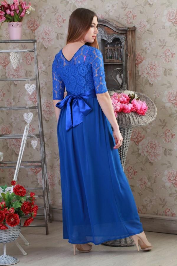 Платье 173 электрик