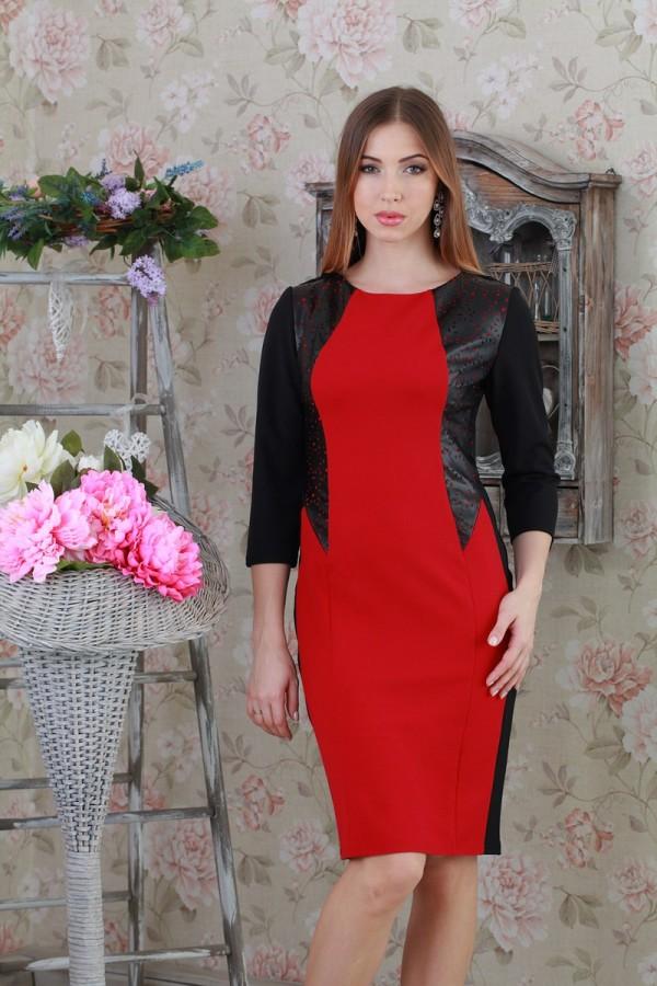 Плаття 192 червоний