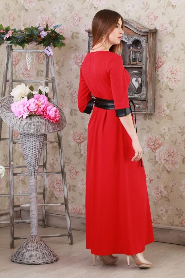 Платье 194 красный
