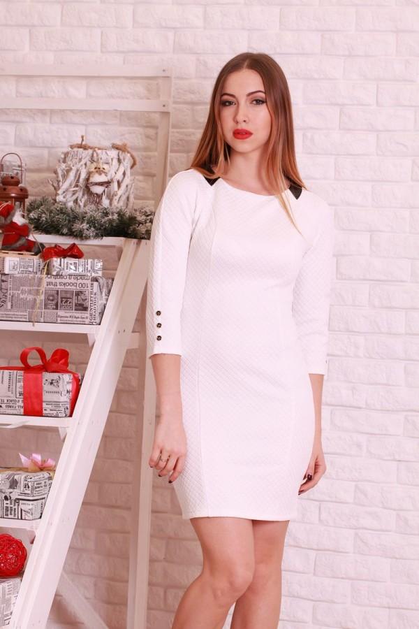 Плаття 198 білий