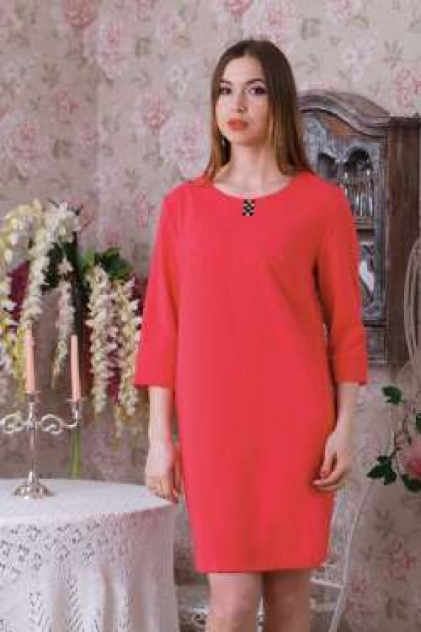 Платье 199 коралл