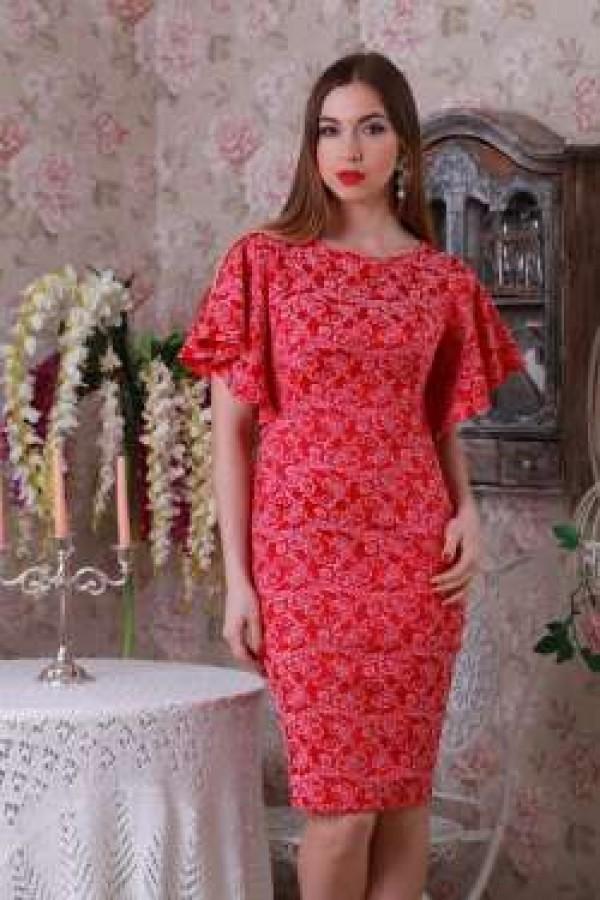 Плаття 209 червоний