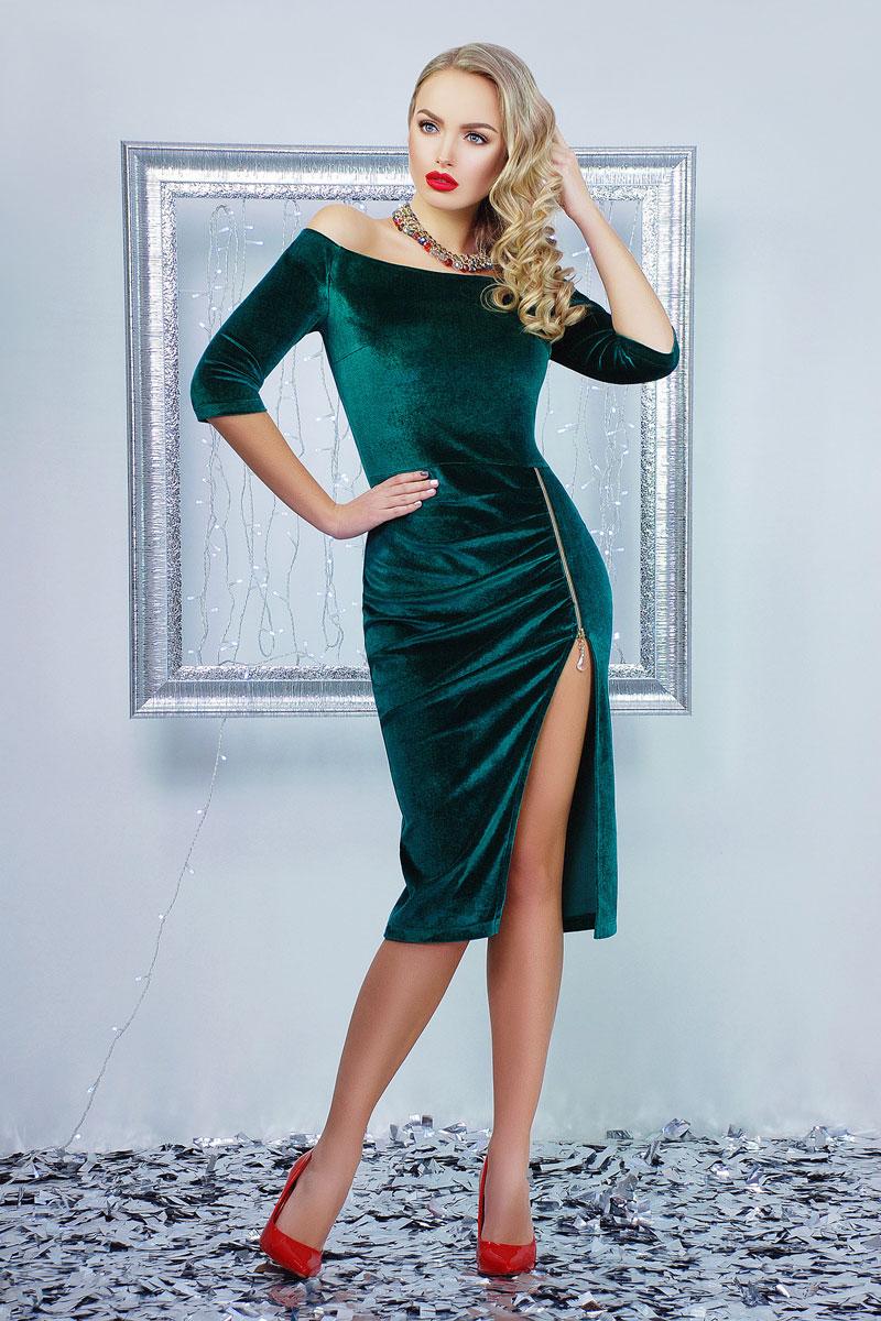 Купити вишукане плаття 2018 Анатель GL001302 смарагдове від ... cc24e049efd72
