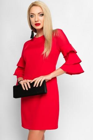 Красное праздничное платье LP312401 Элисон