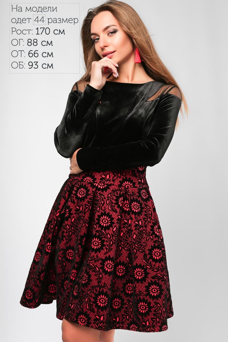 Купити коктейльне червоне плаття 2018 LP318203 Бланш від виробника ... db3cdb08c68c0