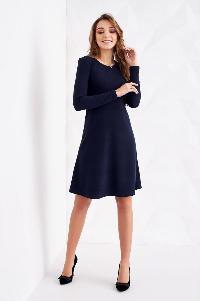 Купити синє трикотажне плаття ST164701 Мальта від виробника та з ... 0d4a163440c31