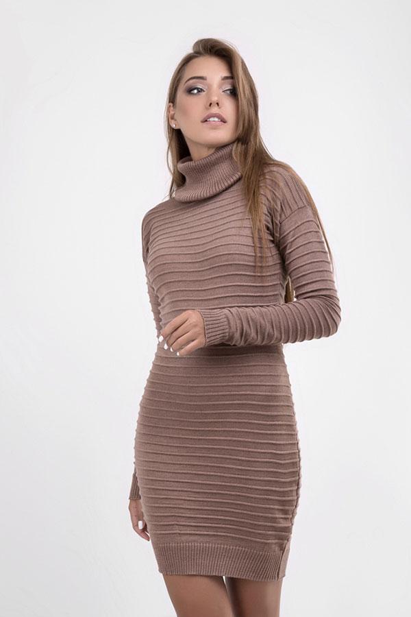 Платье  109803 мокко