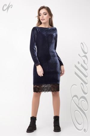Нарядне синє плаття TB137801 Bellise