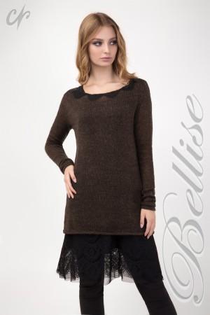 Комплект с туники и платья TB147701 Bellise шоколадный