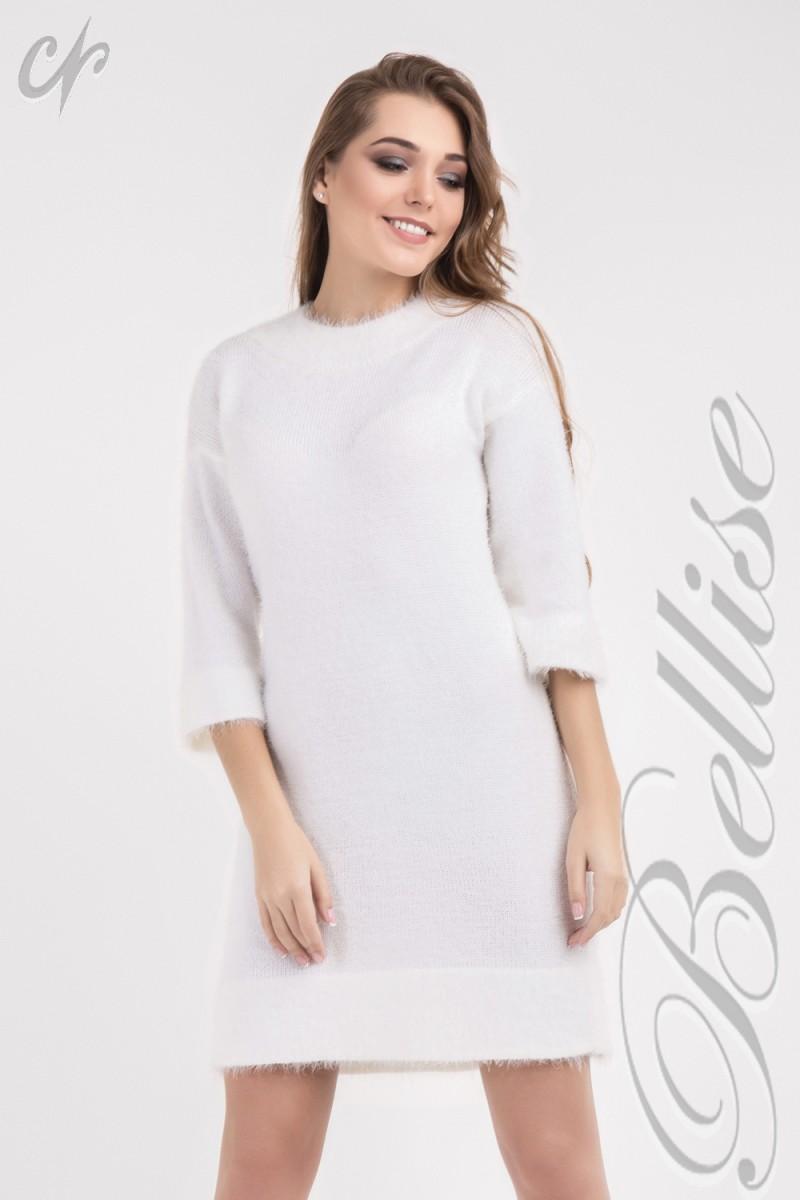 20908ee9bd6399 Купити нарядне біле плаття TB149704 Bellise від виробника з ...