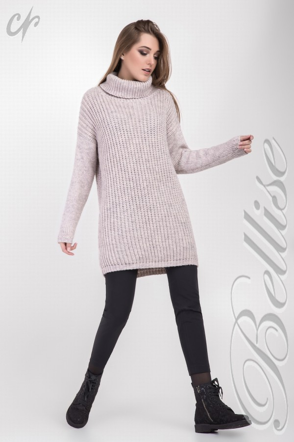 Розовый теплый свитер 2018 TB150001 Bellise