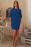 Платье 229 электрик трикотаж