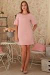 Плаття  231 рожевий трикотаж