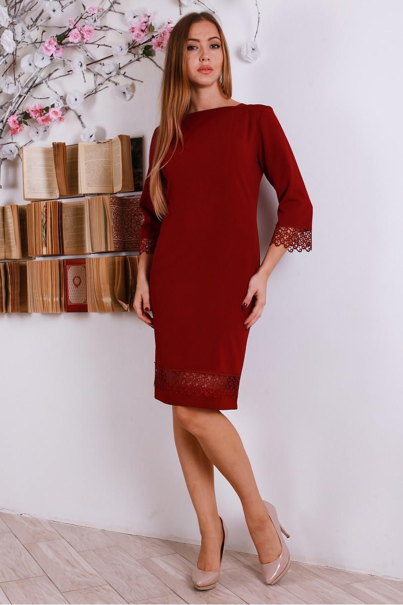 Купити новорічне плаття YM27206 бордове оптом та в роздріб з ... c734699ec53c1