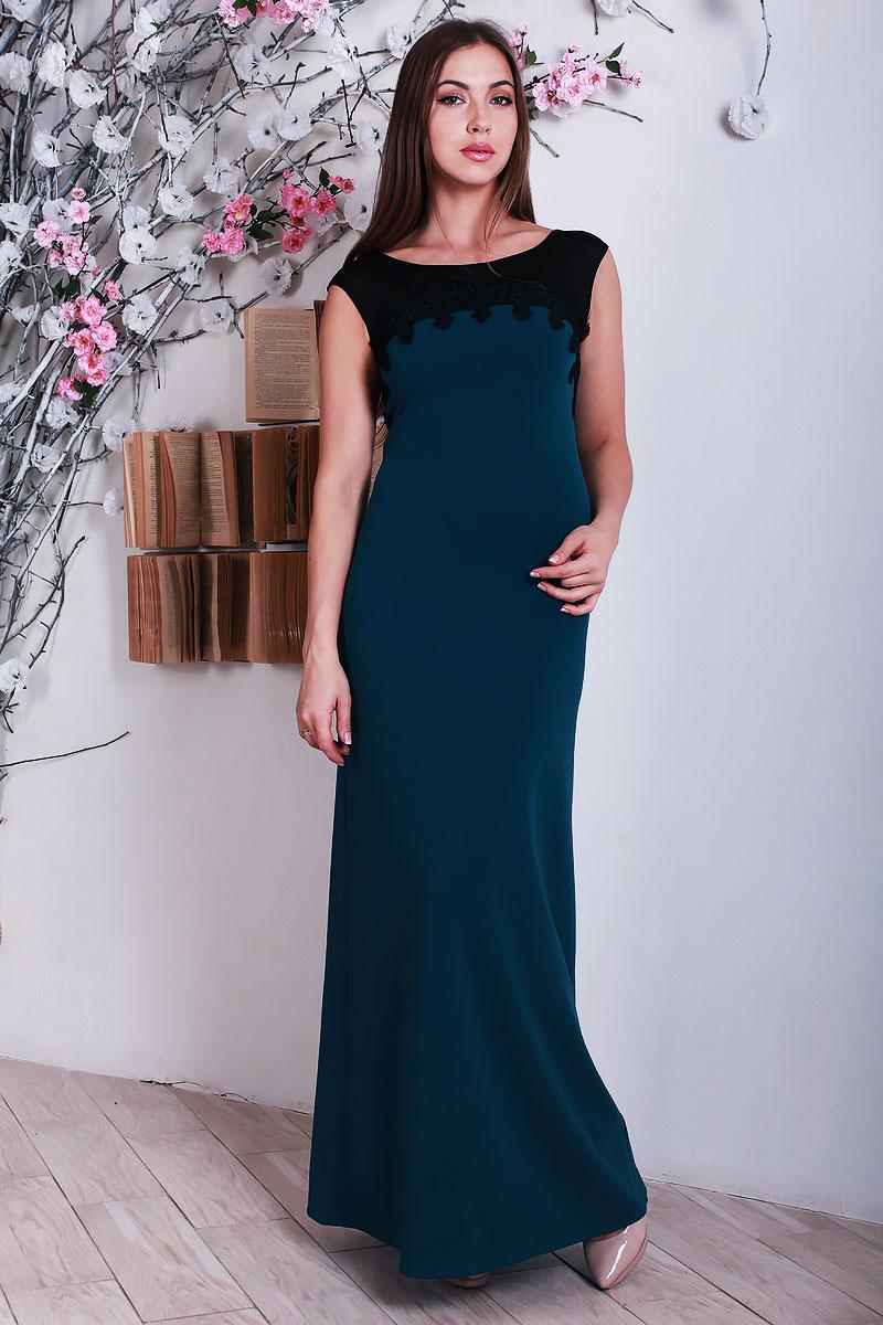 265881ed47f Купити плаття з якісного трикотажу пляшкового кольору YM28404 ...