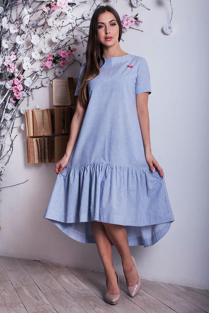 821fa333d78 Купить голубое платье YM28801 недорого оптом в интернет магазине ...