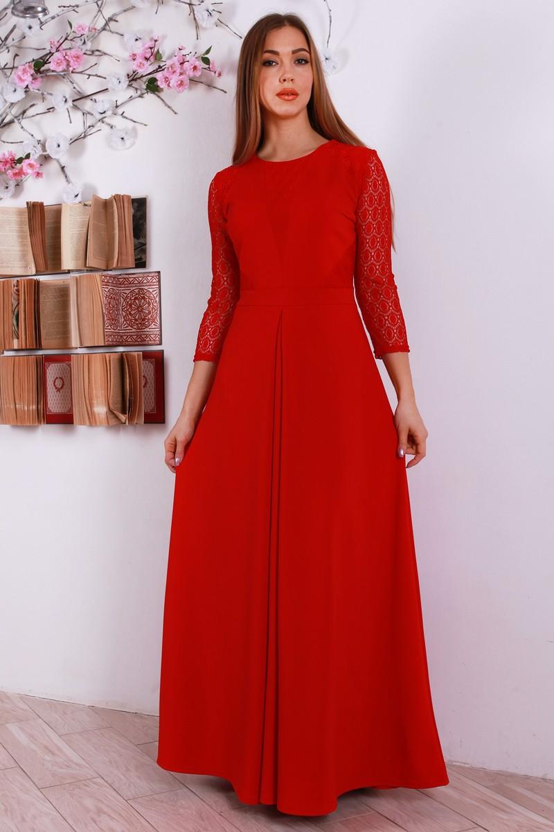 Купити святкове червоне плаття YM31201 довге оптом та в роздріб з ... a25a7b01e5a49