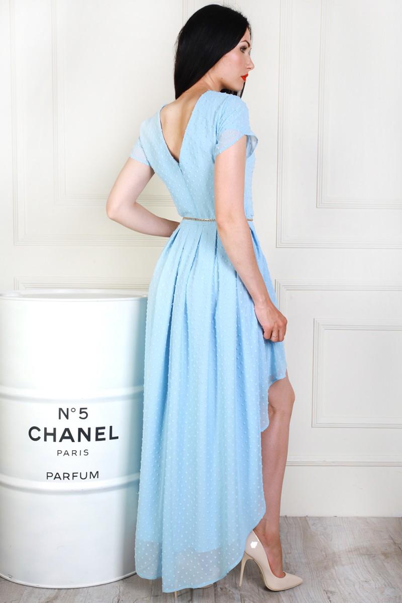 Купити на випускний біле плаття AL69103 з пояском недорого з ... 36a8bb3393ca8