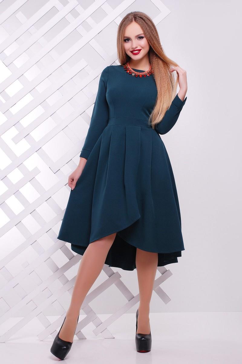 Зеленое платье доставка