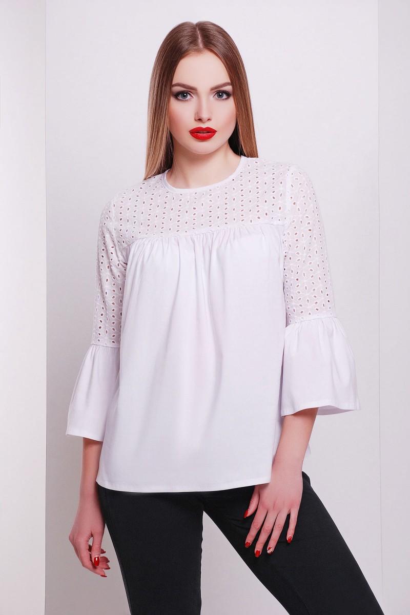 1804a0bceea Купить красивую белую блузу GL622401 недорого от производителя с ...