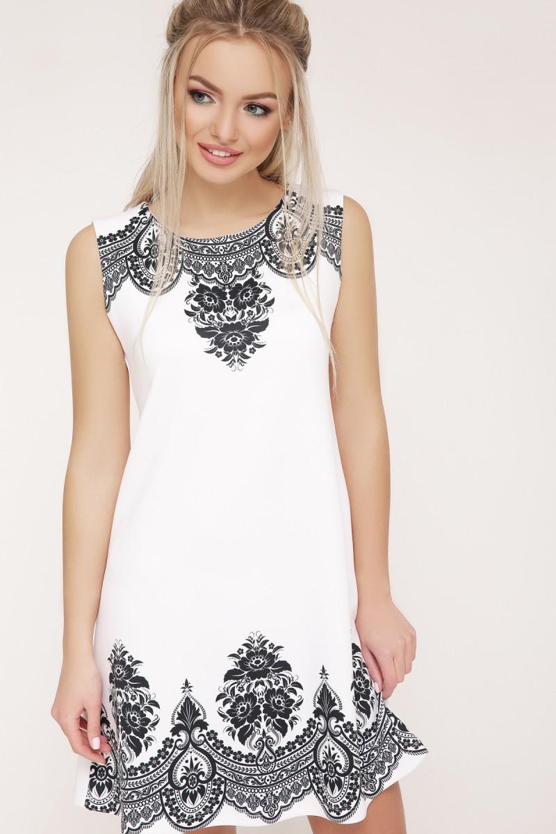 8d9dc408177b85 Купити біле плаття Лада б/р (креп) GL634701 недорого з доставкою у ...