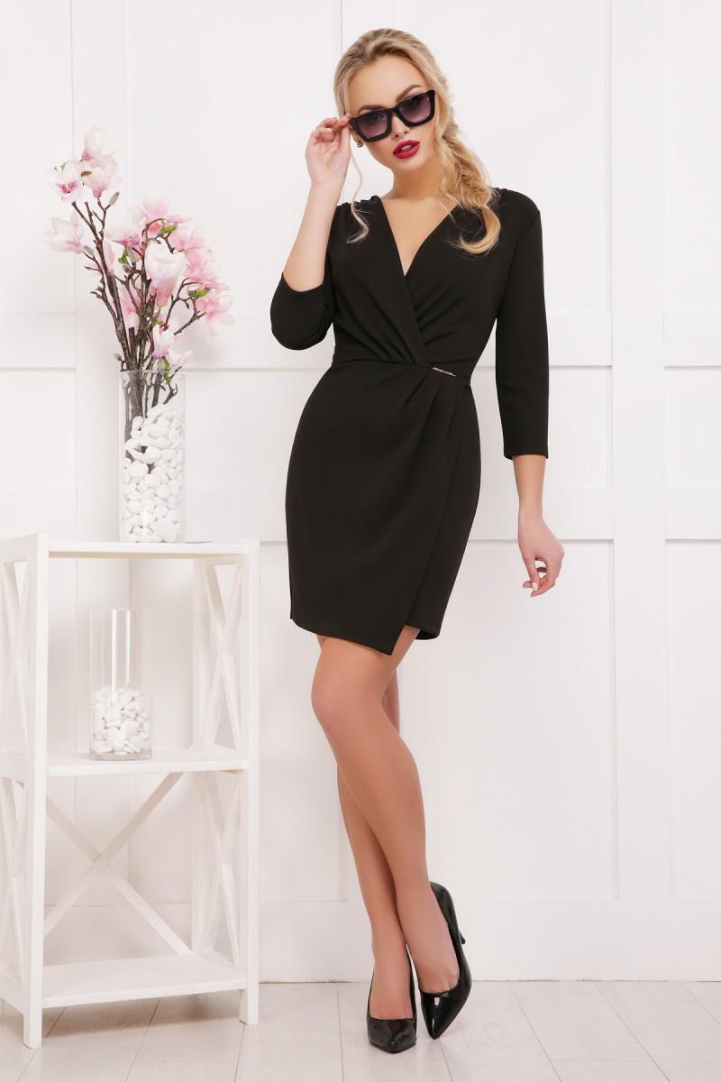Купити чорне плаття Летиция д р GL634901 недорого з доставкою у ... cc086dd0c0eca