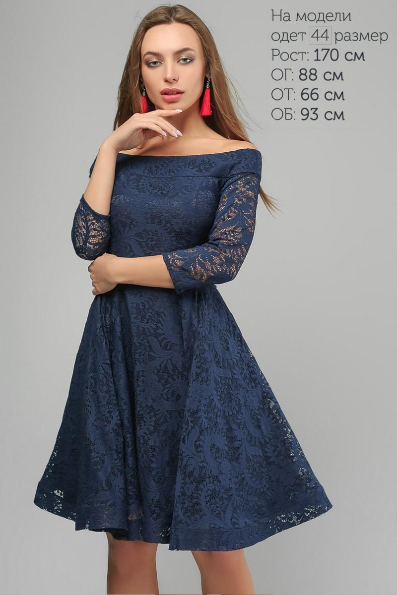 5de92263e73 Купить синее вечернее платье LP325801 недорого от производителя с ...