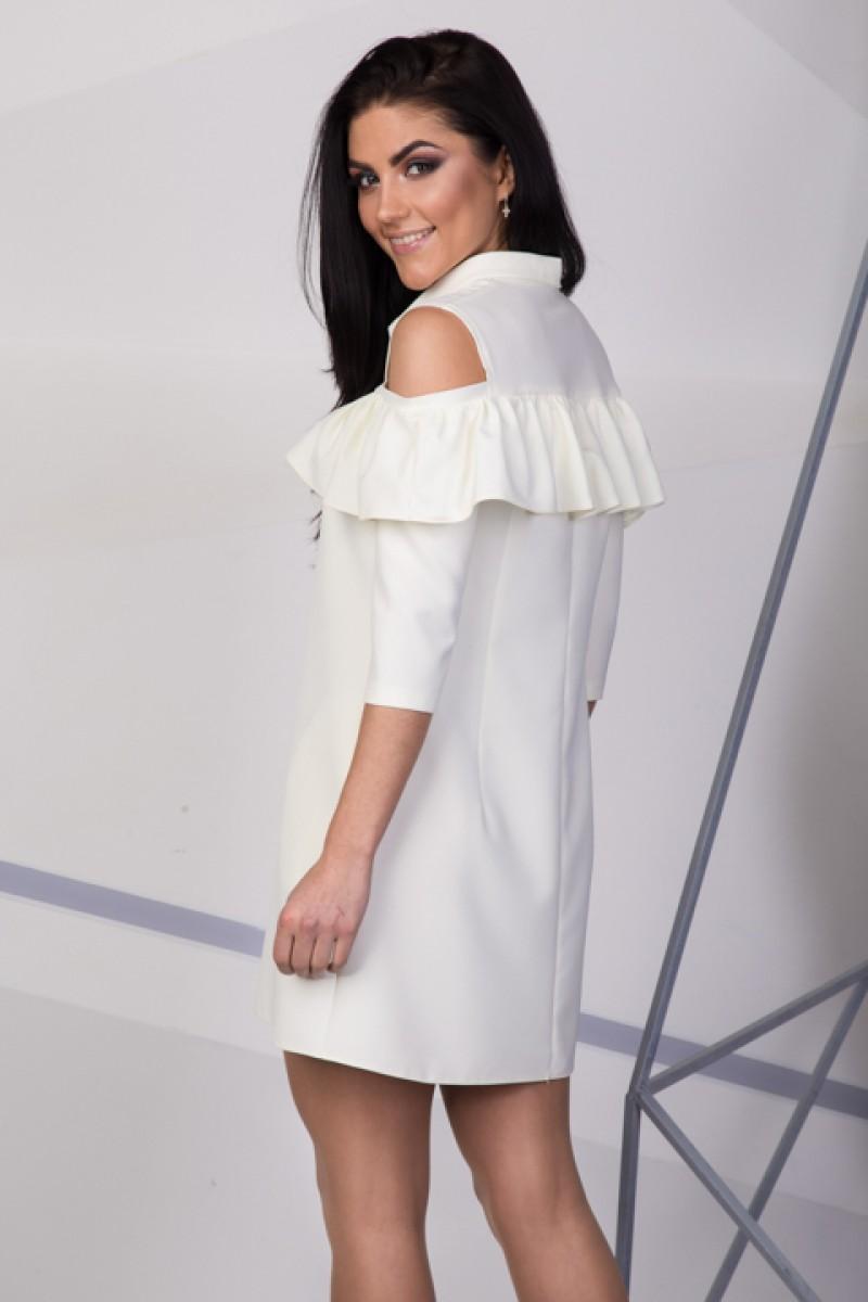 Купити вечірнє біле плаття SL712506 весна 2018 недорого від ... 5e14ebdbf2d52