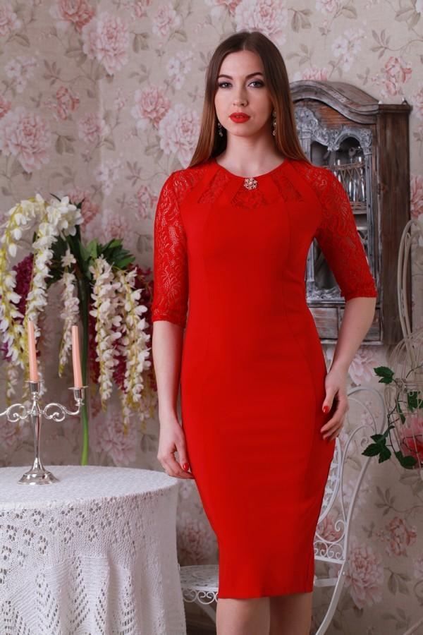 3459, Плаття червоне YM20701 з гіпюром, YM20701, 420грн, YM20701, YM, Святкові плаття 2018