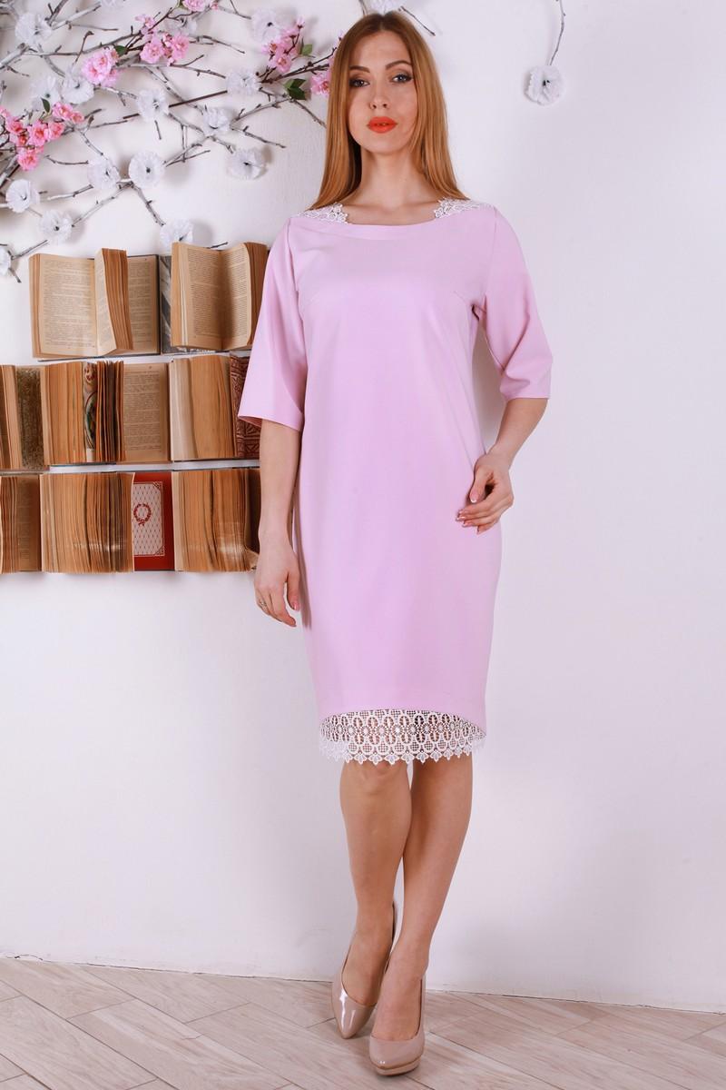 Купити нарядне рожеве плаття YM29705 з мереживом недорого з ... 09bd14662d9ae