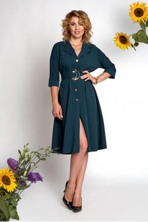Плаття Айрін А3 EM686403 темно-зеленого кольору