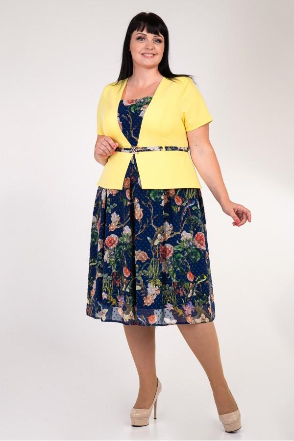 Платье Перис больших размеров VN35001