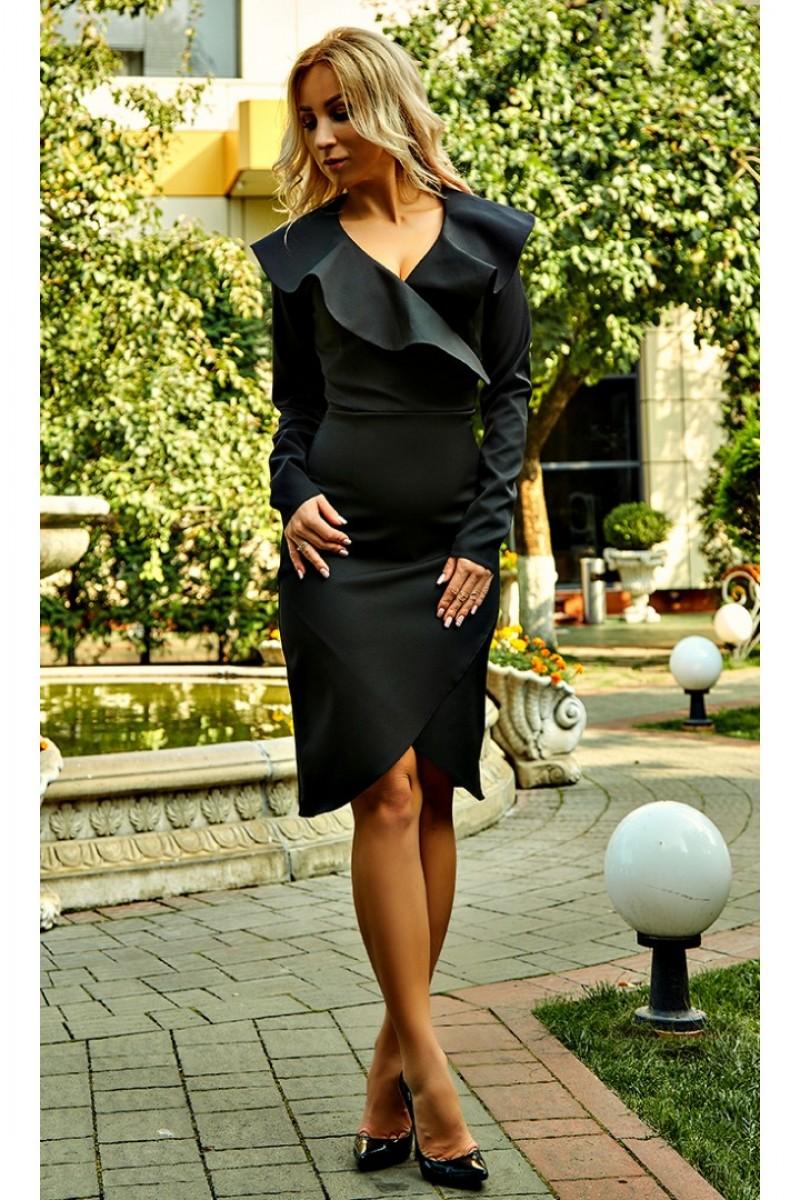 Купити плаття від виробника Фернанда AD694401 чорного кольору від ... 484a653227ca3