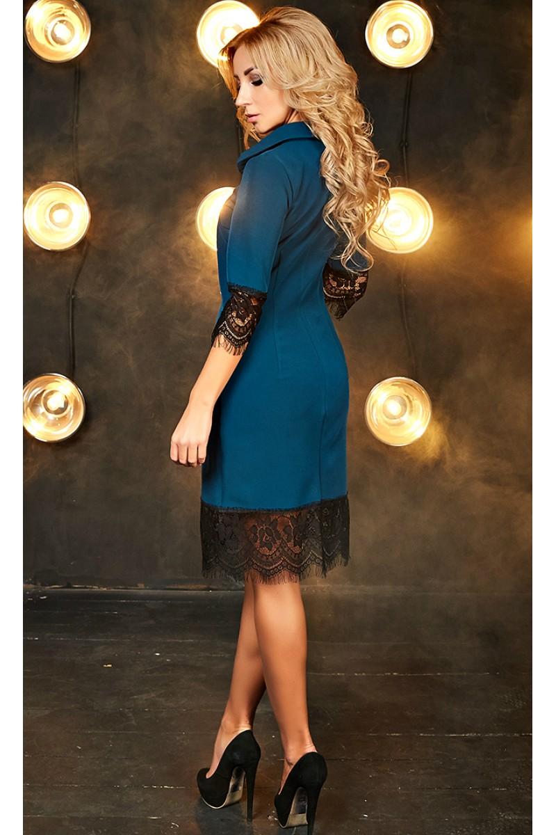 ae176aeaa886ef9 Купить осеннее платье-рубашка Кирра AD700801 зеленого цвета недорого ...